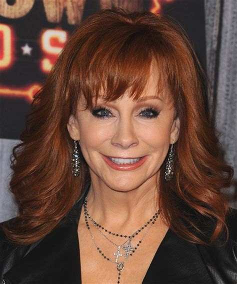 front and back view of rebas hair reba mcentire hairstyles hairstyles