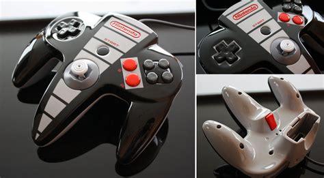 nintendo nes wii custom paint custom nes themed n64 controller by zoki64 on deviantart
