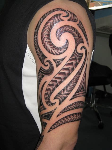 Armrest Tattoo Nz | 37 tribal arm tattoos that don t suck tattooblend