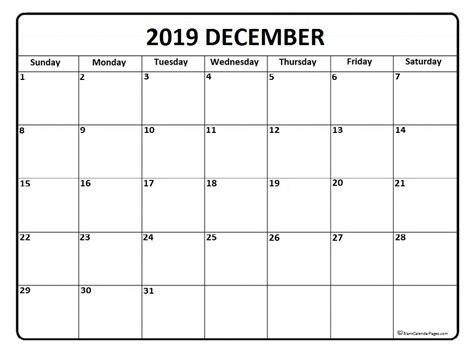 blank december calendar page december 2019 calendar 50 templates of printable calendars