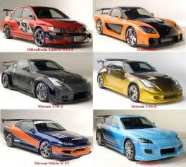 tokyo drift cars mitsubishi lancer evo 8 cars
