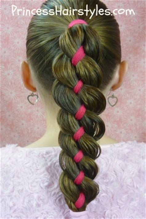 how to 4 strand braid tutorial hairstyles for princess hairstyles
