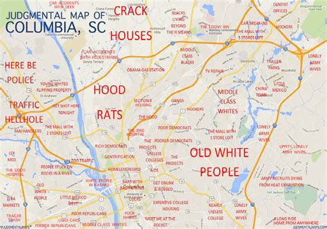 columbia sc map judgmental maps columbia sc by anonymous copr 2015 judgmental