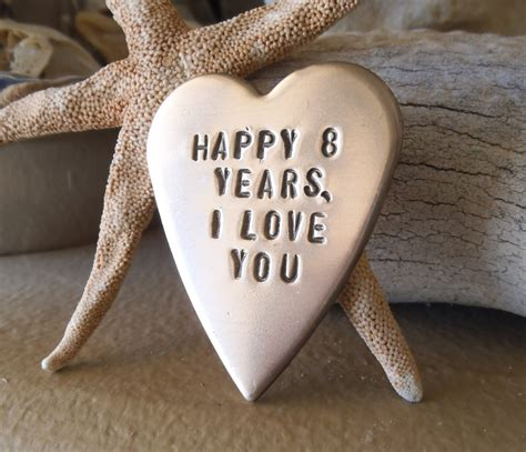 8 Gifts For by Bronze Gift For Him Eighth Anniversary 8th Bronze Anniversary