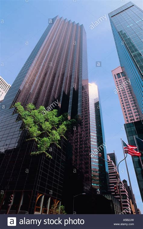 trump tower new york address new york city trump tower midtown manhattan stock photo