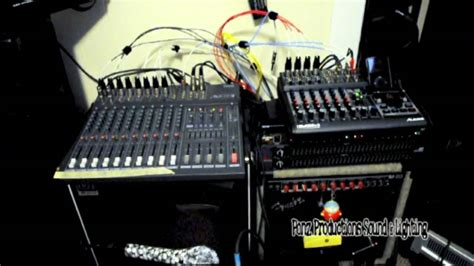 used church sound equipment