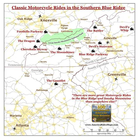 motorcycle road maps usa best motorcycle rides smoky mountain motorcycle rider