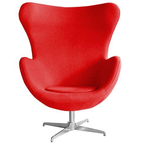 Retro Arne Jacobsen Inspired Designer Swivel Wool Egg Swivel Egg Chair