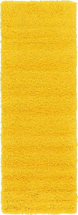 tuscan yellow tuscan sun yellow 2 2 x 6 5 solid shag runner rug area
