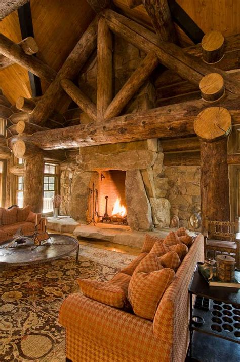 log cabin fireplace culture scribe