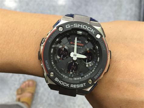 G Shock Gst W100d 1aer casio gst w100d 1a4er g shock gents brand new for