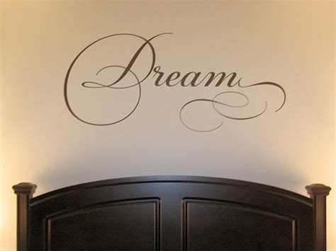word wall stickers for bedrooms dream simply words wall decals trading phrases