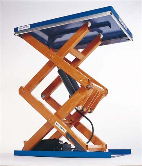 scissor lift platform table scissor lift tables edmolift