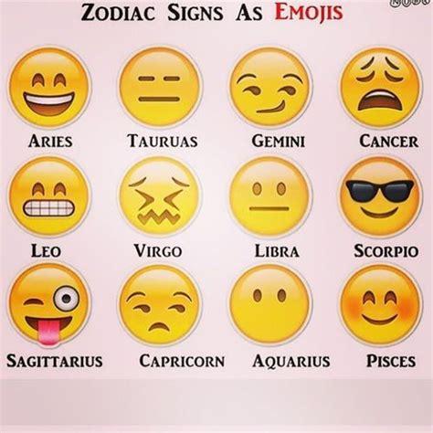 emoji zodiac symbols image gallery emoji signs
