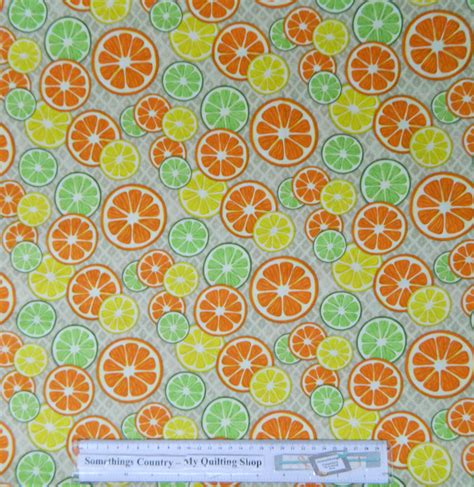 Patchwork And Quilting Fabric - patchwork quilting sewing fabric citrus grove fruit