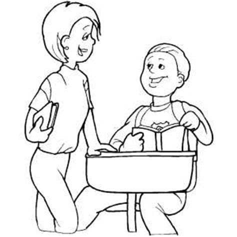 kid talking coloring page students talking coloring page