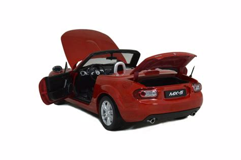 mazda model mazda mx 5 2012 1 18 scale diecast model car paudi model