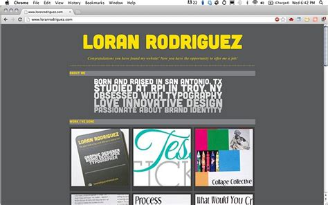 Portfolio Website For Mba Student by