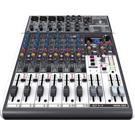 Mixer Xenyx 1204 behringer xenyx x1204usb 12 channel effect mixer