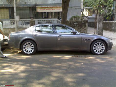 maserati mumbai exclusive pics black maserati granturismo in mumbai
