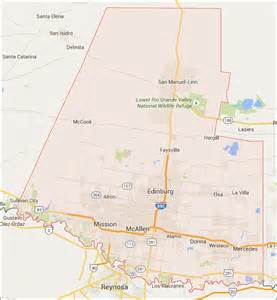 hidalgo county color map