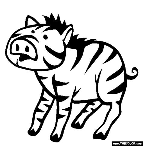 zoe zebra coloring page free coloring pages of zoe zebra