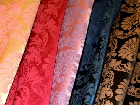 Designer Fabrics For Home Decor by Designer Damask Home Decor Fabric By The Yard