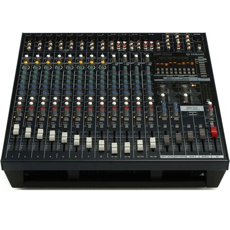 Mixer Power yamaha emx5016cf 500w 500w stereo powered mixer at