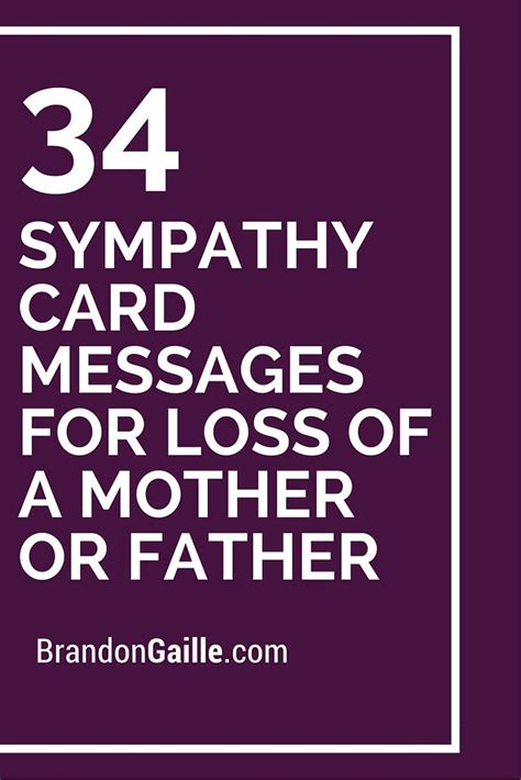 How To Write Sympathy Card For Loss Of