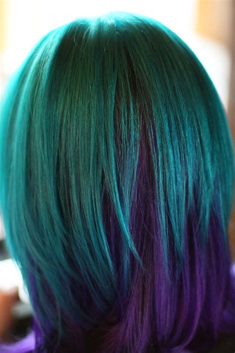 hair color on bottom 25 best ideas about two color hair on pinterest two
