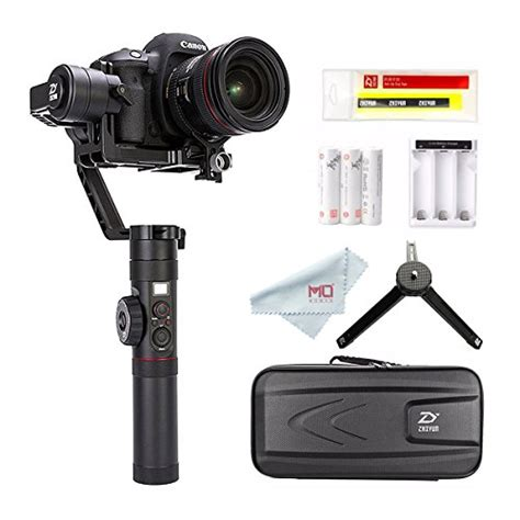 Zhiyun Crane 2 3 Axis With Follow Focus For Dslr New Version zhiyun crane 2 2017 follow focus 3 axis handheld gimbal stabilizer for dslr up to 7 lb
