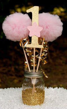 pink and gold table decorations 1000 ideas about birthday centerpieces on
