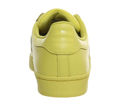 Adidas Supercolour For 37 40 adidas superstar 1 pharrell supercolour bright yellow
