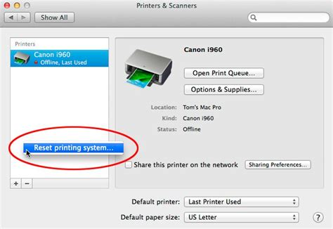 resetting the printing system in yosemite for mac os x 10 10 yosemite download usbtb 1 0 17 via file