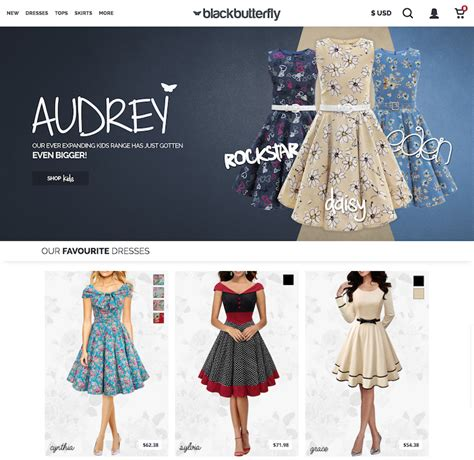 design free clothes online 78 best ecommerce website design exles award winners