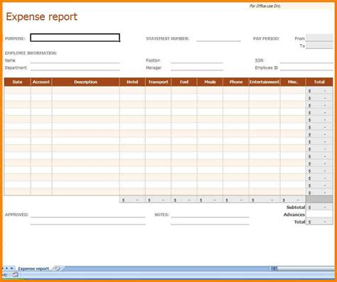 monthly expense report template 9 monthly expense report template monthly bills template