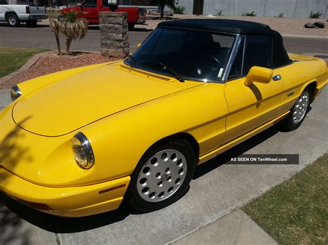 1993 Alfa Romeo Spider by Service Manual 1993 Alfa Romeo Spider Transmission Fluid
