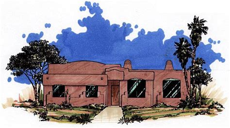 santa fe southwest house plan 54606 house plan 54606 order code pt101 at familyhomeplans com
