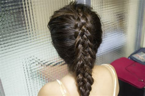 5 strand french braid how to do a 5 strand french plait 14 steps with pictures