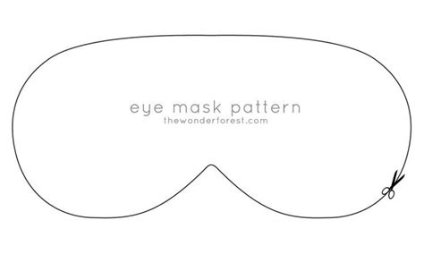Sleeping Mask Card Template by Eye Mask Invitation Template Search Maddy