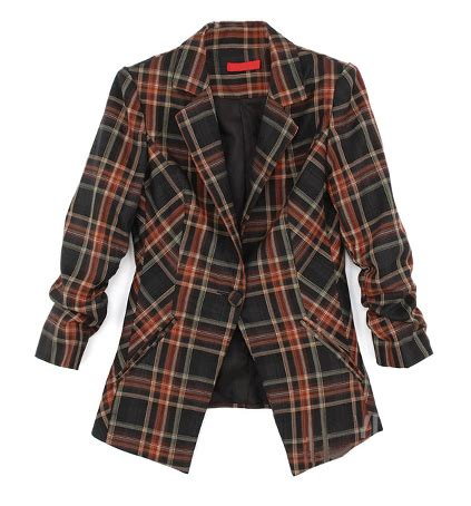 The 2008 Gold Ebay Reports Sharp Increase In Sales Of Gold Jewelry by Romwe Plaid Check Blazer 8 Preppy And Plaid Pieces For