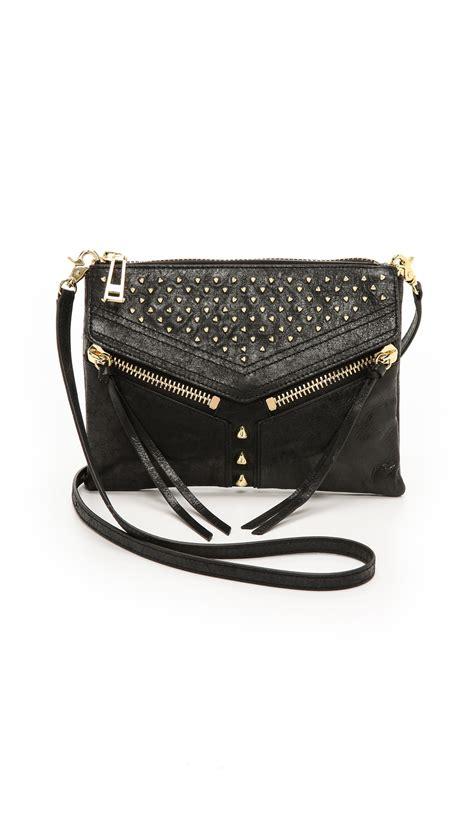 Botkier Pocket Bag by Botkier Legacy Studded Mini Bag Black In Black Lyst