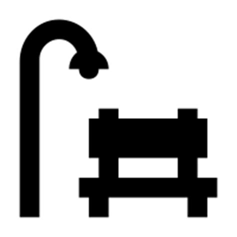 park bench icon park bench icons noun project