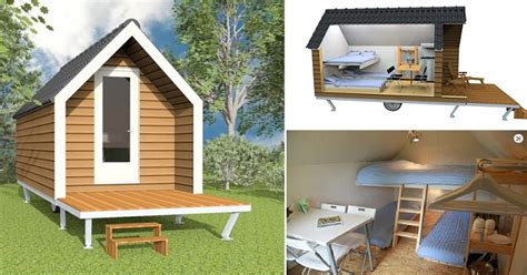 tiny mobile homes home design garden architecture