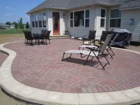 Paver Designs For Patios Patio Design Brick Paver Paver Patio Design Ideas Patio Paverfirepit Memorial Tables