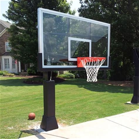 best backyard basketball hoop best in ground basketball hoop on picking the right one dunk like a beast