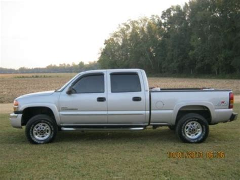 electric and cars manual 2005 gmc sierra 2500 on board diagnostic system purchase used 2005 gmc sierra c k2500 4x4 crew cab slt in denton maryland united states for