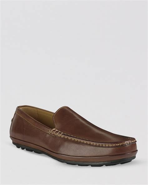 cole haan driving loafers cole haan hudson venetian driving loafers in brown for