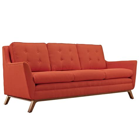 red tufted sofa beguile contemporary button tufted upholstered sofa
