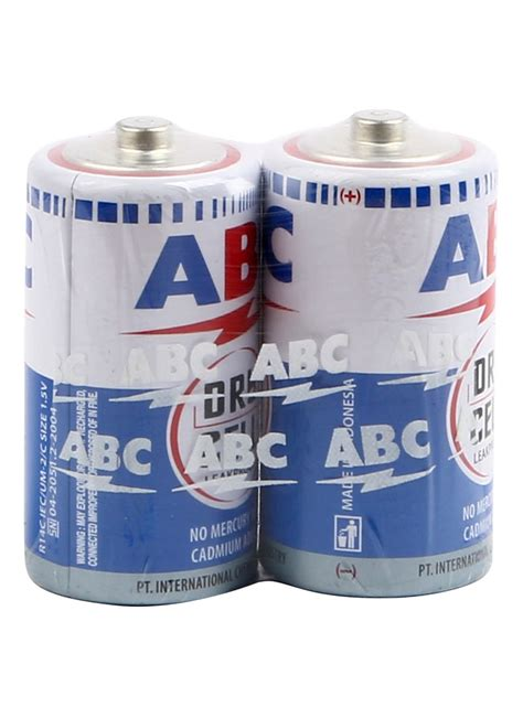 Baterai Battery Abc Biru Besar Ukuran D 2 Pcs abc battery biru r14 2 s tanggung pck klikindomaret